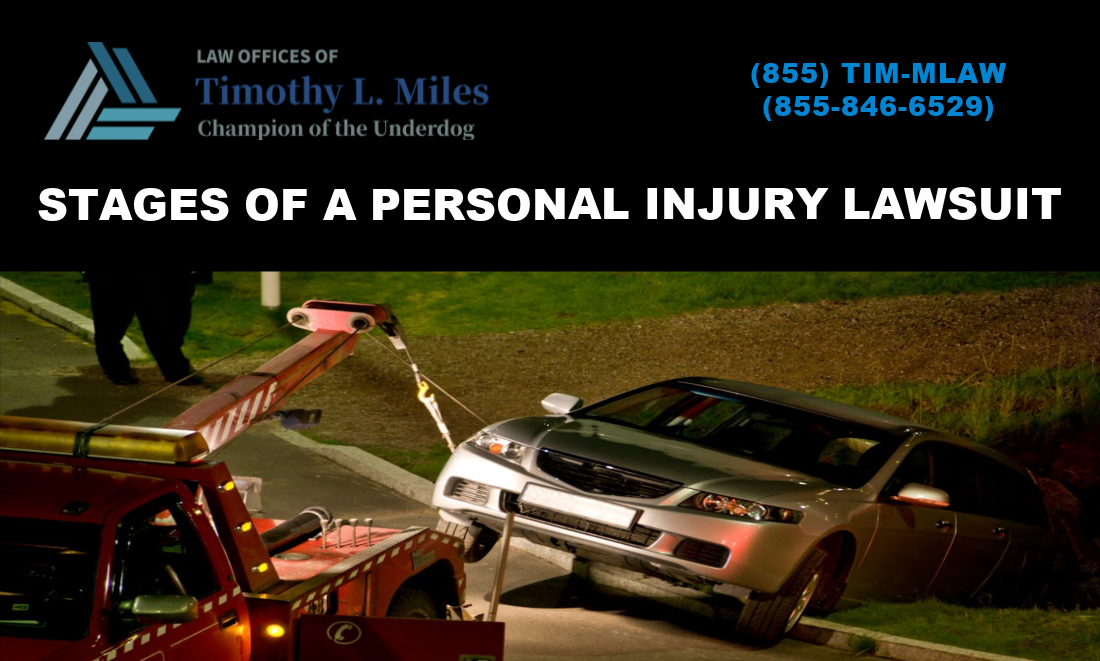 Stages of a Personal Injury Lawsuit