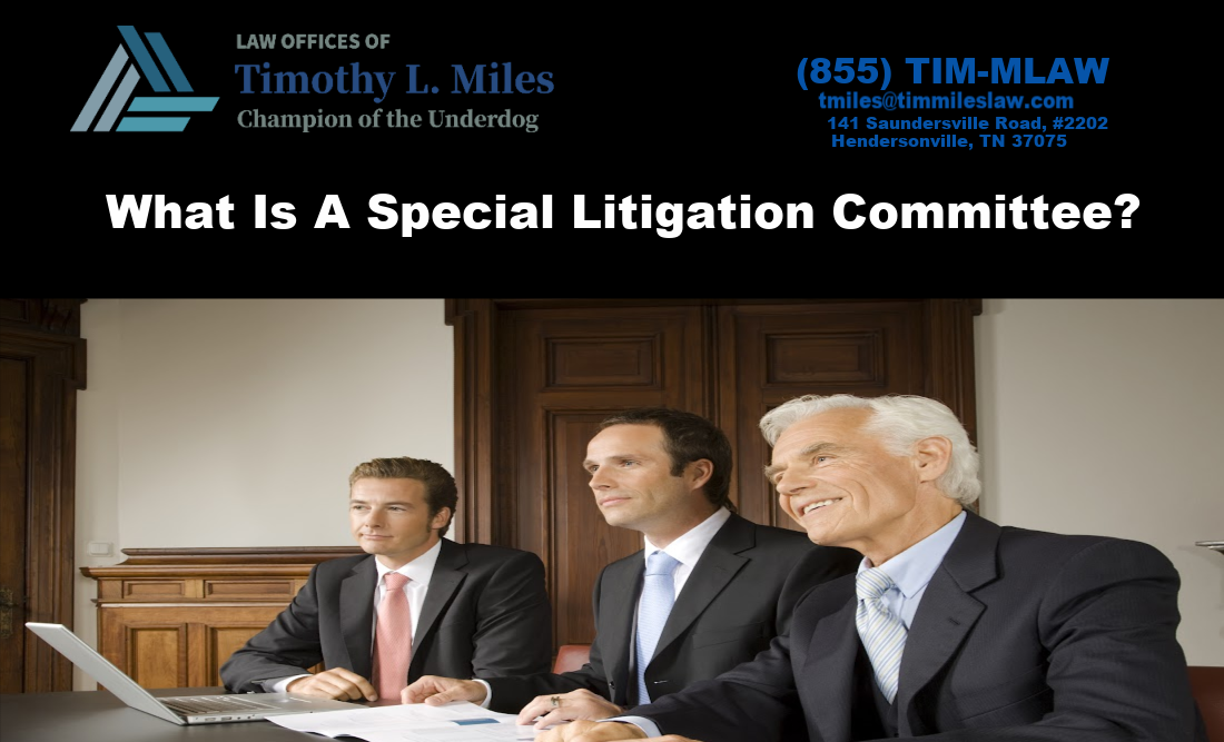 What Is A Special Litigation Committee?