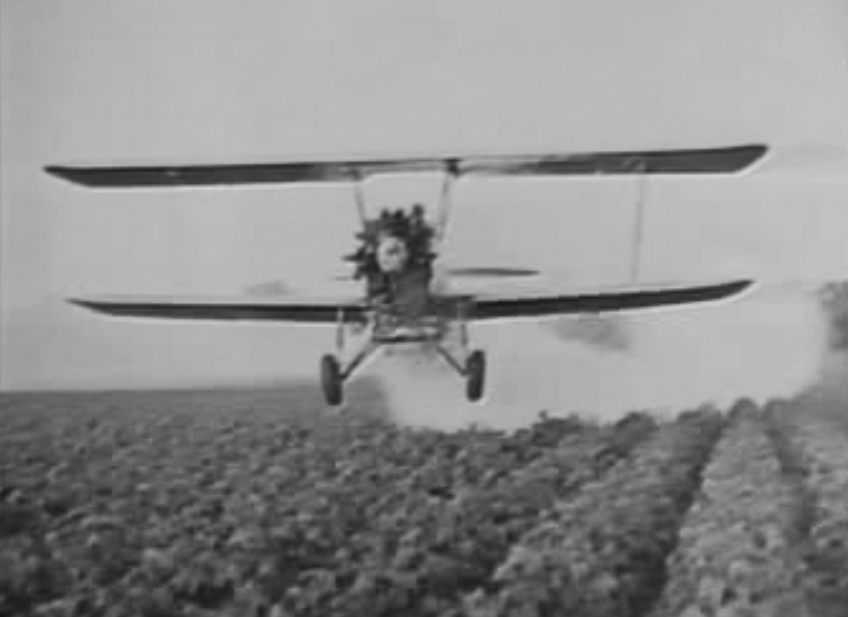 Picture of Almanac: The first crop dusting flight - CBS News